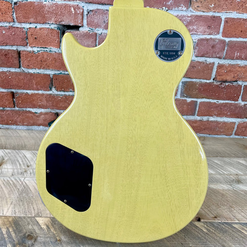 Gibson Custom Shop Murphy Lab 1957 Les Paul Special Single Cut Reissue Ultra Light Aged - TV Yellow 711090