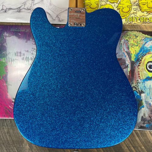 Fender J Mascis Telecaster Maple Fingerboard Bottle Rocket Blue Flake JM001172