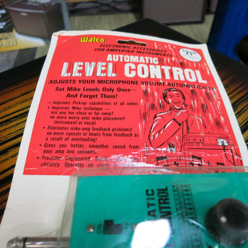 Used Vintage Walco Automatic Level Control 1