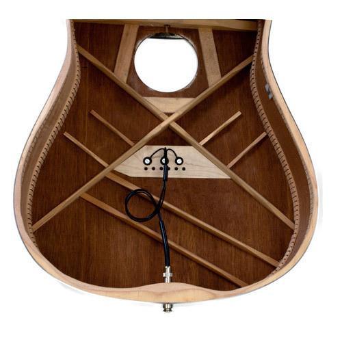 K&K Pure Mini Acoustic Pickup with Passive Volume Control