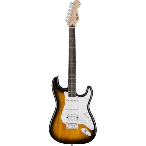 Squier Bullet Strat HSS HT Brown Sunburst Electric Guitar