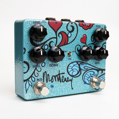Used Keeley Monterey Fuzz Vibe Rotary Pedal