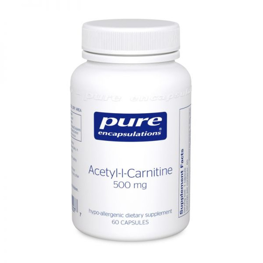 Acetyl-l-Carnitine 500 mg.