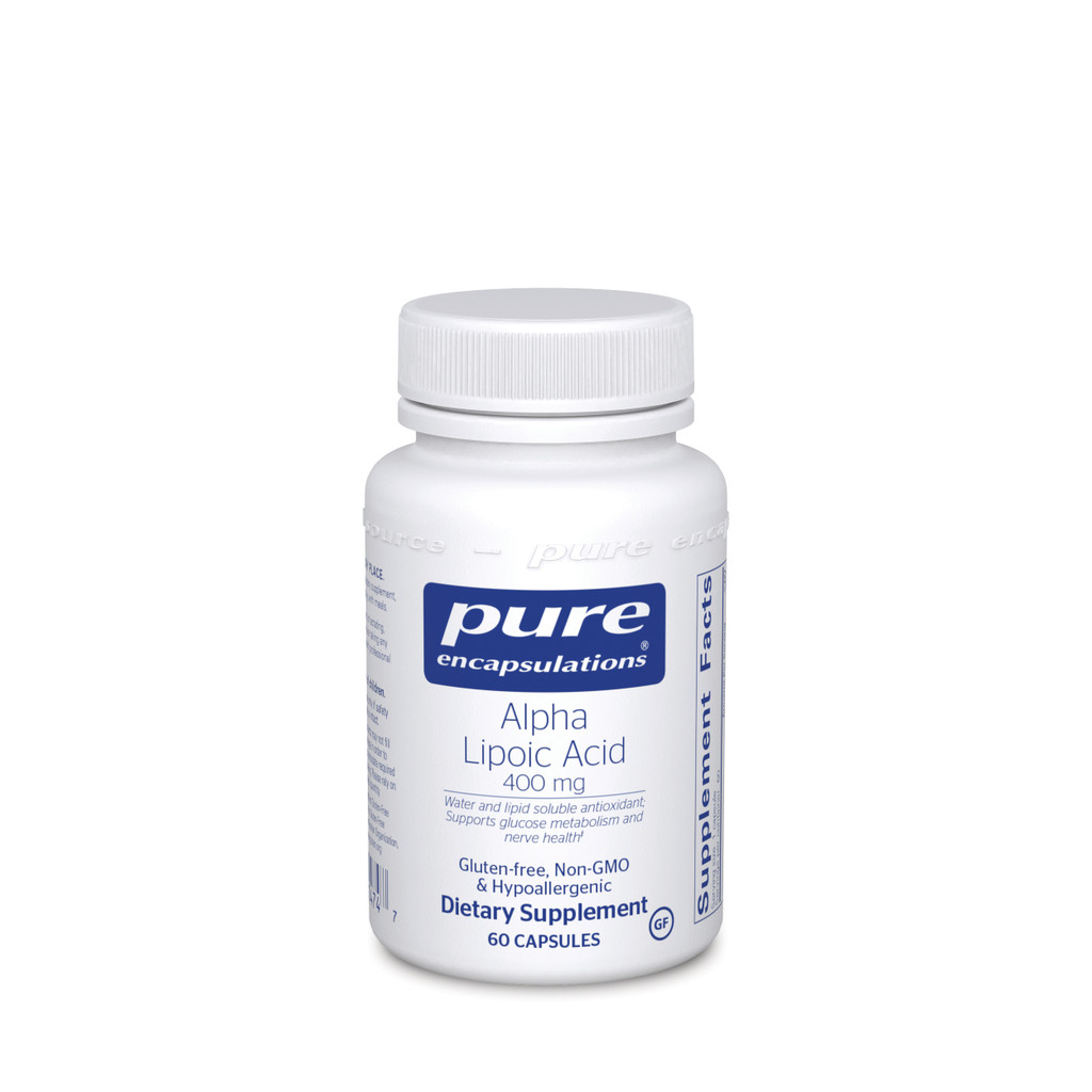 Alpha Lipoic Acid 400 mg.
