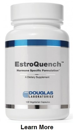 EstroQuench™ is created to support the optimal function of specific hormones through the use of hormone specific adaptogens, hormone specific agonists and hormone specific functional mimetics.