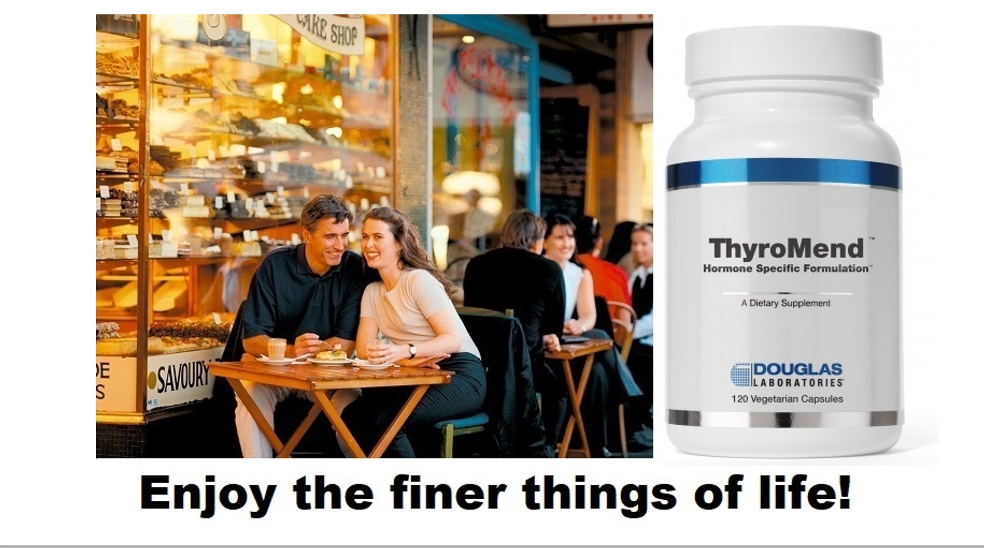 Enjoy the finer things of life! ThyroMend™