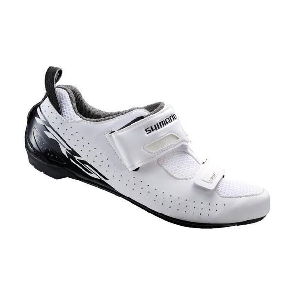 SHIMANO SH-TR5 鐵人鞋-白底黑字 / SHIMANO SH-TR5 TRIATHLON SHOES-WH/BK