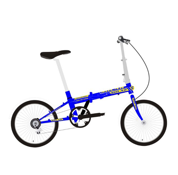 "SOLAR FD-500S 摺車-20""-6波 / SOLAR FD-500S FOLDING BIKE-20""-6 SPEED"