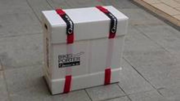 QBICLE BIKE PORTER BROMPTON 單車箱~白色~77x64x35cm/QBICLE BIKE PORTER~BROMPTON~WHITE~77x64x35cm