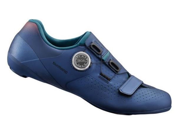 SHIMANO SH-RC500 女裝公路車鞋-藍色/SHIMANO SH-RC500 WOMEN ROAD SHOES-NAVY