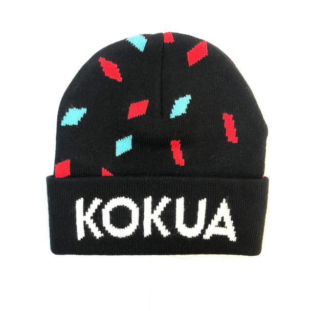 KOKUA 小童黑色帽 毛冷帽/KOKUA KID HATS, BLACK