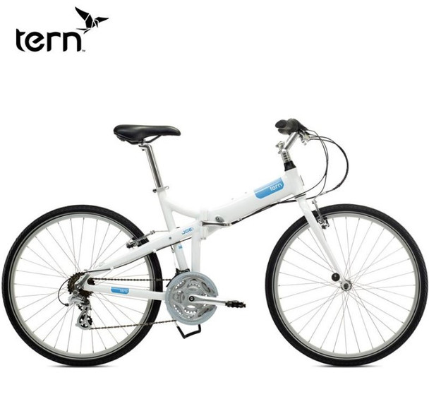 "TERN JOE C21 26"" 21波摺車-白藍 (M)/	 TERN JOE C21 26"" FOLDING BIKE 21SPD WH/BL (M)"