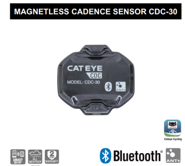 CATEYE 藍芽/ANT+ 感應器(無磁石式)/ CATEYE BLUETOOTH/ANT+ SENSOR (MAGNETLESS)