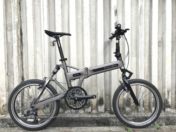 "DAHON JET D9 9波折疊車-FAA093 20""-啞光灰 / DAHON JET D9 F-BIKE-FAA093-9SPD-20""GRAY"
