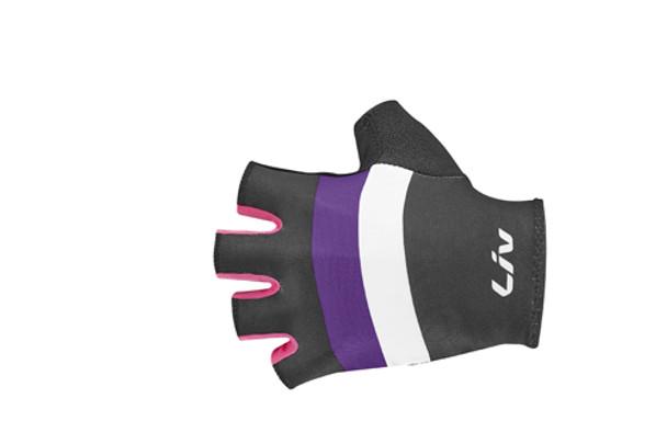 LIV RACE DAY 短指手套~黑紫粉紅~大碼 / LIV RACE DAY SHORT GLOVE~BK/PU/HOT PINK~LARGE