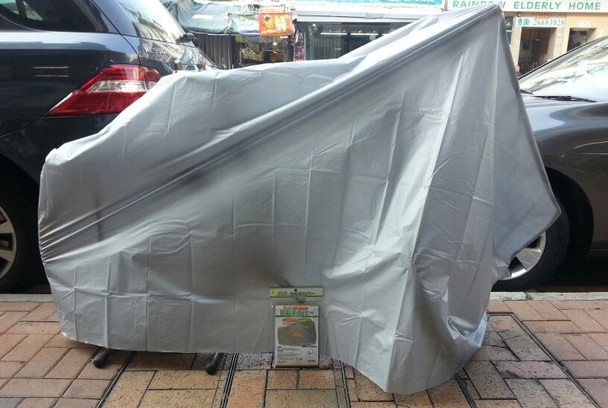 日本單車雨罩 (CYCLE COVER) 27-28型 / JAPAN BICYCLE COVER, BIG SIZE, GY PEVA