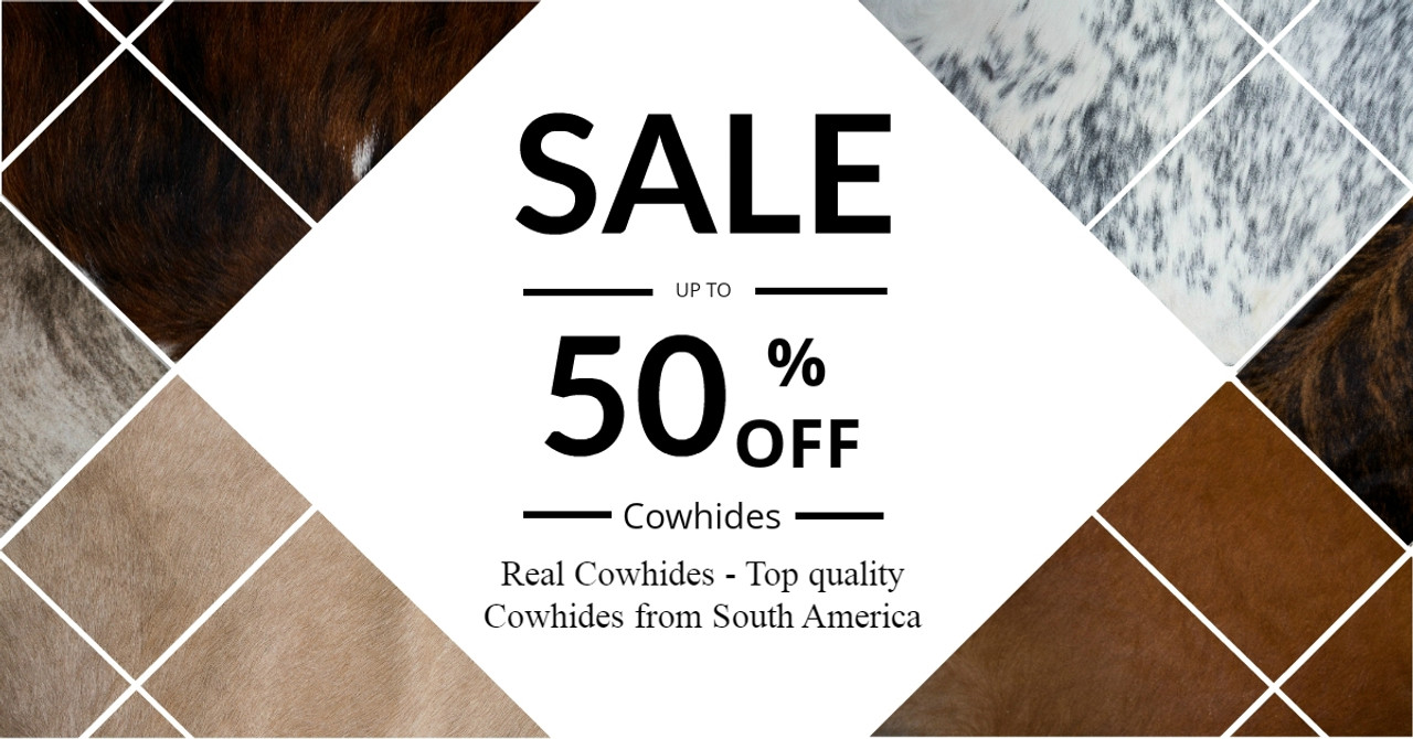 Cowhide rug sale UK