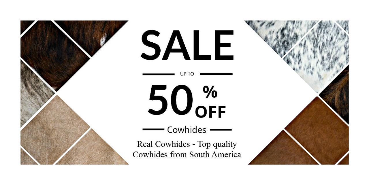 cowhide rug sale