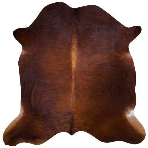 cinnamon brown cow hide rug