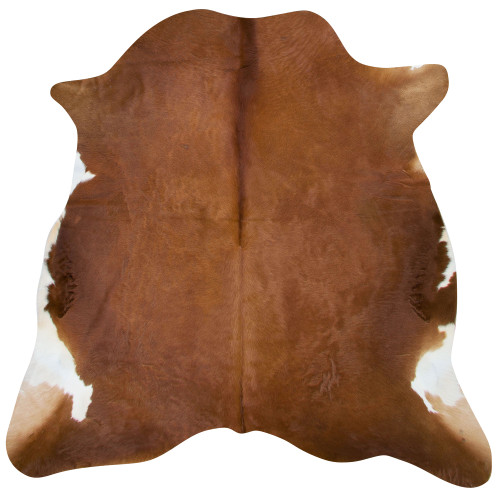 cow hide in warm brown