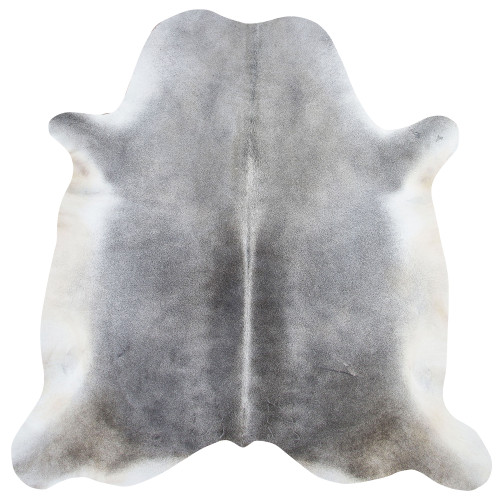 stunning grey cow hide rug