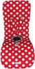 """""""Minnie"""" Polka Dot White & Red to fit Mountain Buggy"""