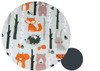 Forest Animals Cotton Pram Liner to fit SilverCross