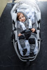 Fox Grey Cotton Pram Liner to fit Strider