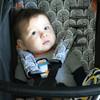Peekaboo Grey Cotton Pram Liner to fit Baby Jogger Summit xc/x3