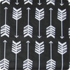 Arrows Black & White Cotton Pram Liner to fit Baby Jogger Summit xc/x3