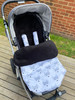 Fox Grey Snuggle Bag to fit UPPAbaby