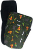 Consists of Jet Black pram liner to fit Uppababy and zip on/off Safari Race a Rama footmuff