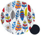 Bright Feathers Cotton Pram Liner to fit Baby Jogger City Mini GT