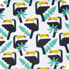 Toucans Cotton Pram Liner to fit Baby Jogger