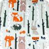 Forest Animals 100% cotton