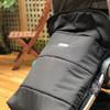 Waterproof footmuff shell