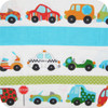 Trucks and Cars 100% cotton