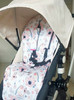 Baby Robin Cotton Pram Liner to fit Bugaboo Cameleon/Fox (photographed in Cameleon)