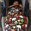 Zoology Black Snuggle Bag to fit Baby Jogger