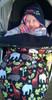 Zoology Black Snuggle Bag to fit Cameleon