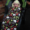 Zoology Black Snuggle Bag to fit iCandy