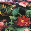 Black Floral Waterproof shell