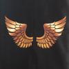 Golden Wings on Black Waterproof Footmuff