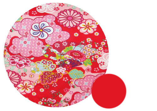 Kimono Blossom Red Snuggle Bag to fit Baby Jogger