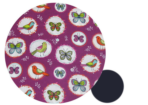 Magic Garden to fit Phil & Teds- all cotton