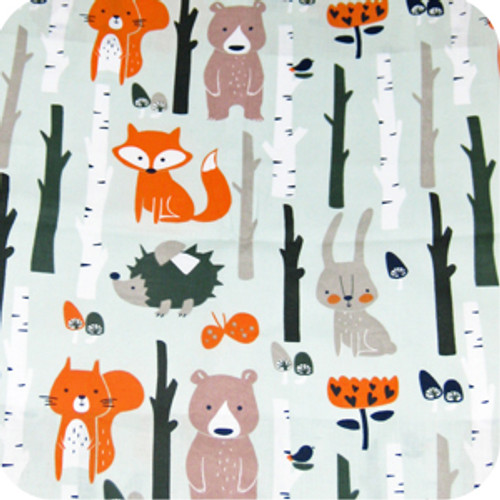 Forest Animals Cotton Pram Liner to fit Mountain Buggy