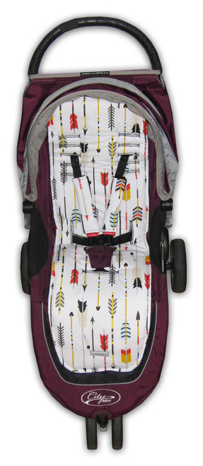 Arrows Cotton Pram Liner to fit Baby Jogger - back in stock!