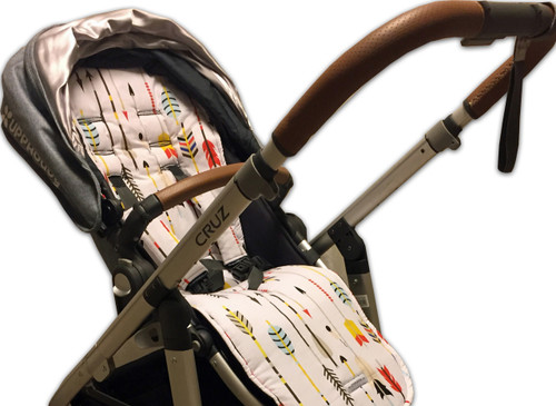 Arrows Cotton Pram Liner to fit UPPABaby - back in stock!