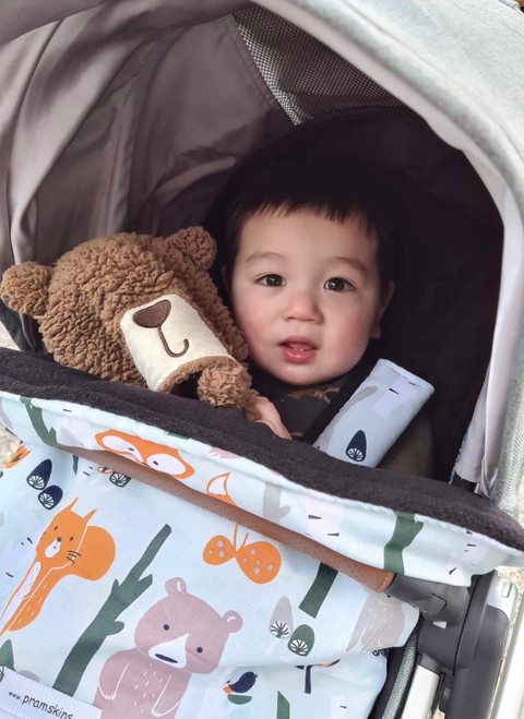 Forest Animals Snuggle Bag to fit UPPAbaby