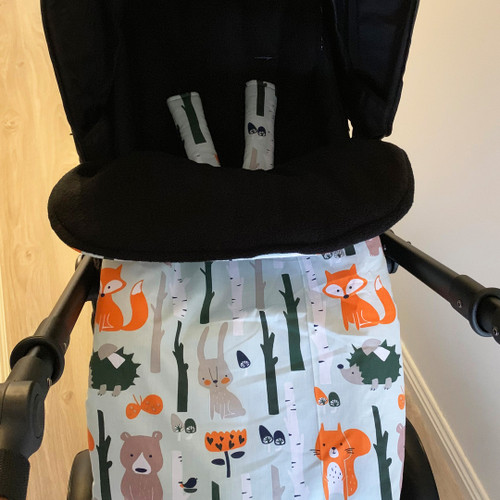 Forest Animals Snuggle Bag to fit Mountain Buggy Nano/Cosmopolitan